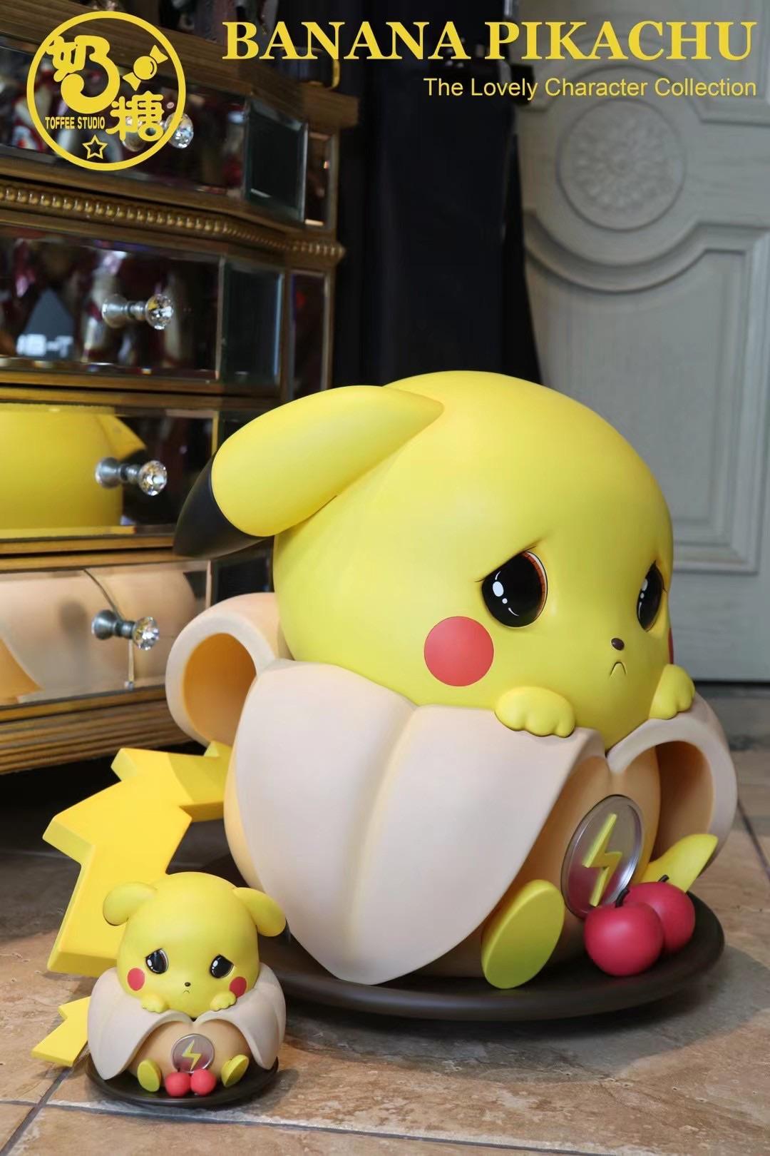 ตัวเล็ก Banana Pikachu ปิกาจู กล้วย by Toffee Studio (มัดจำ)