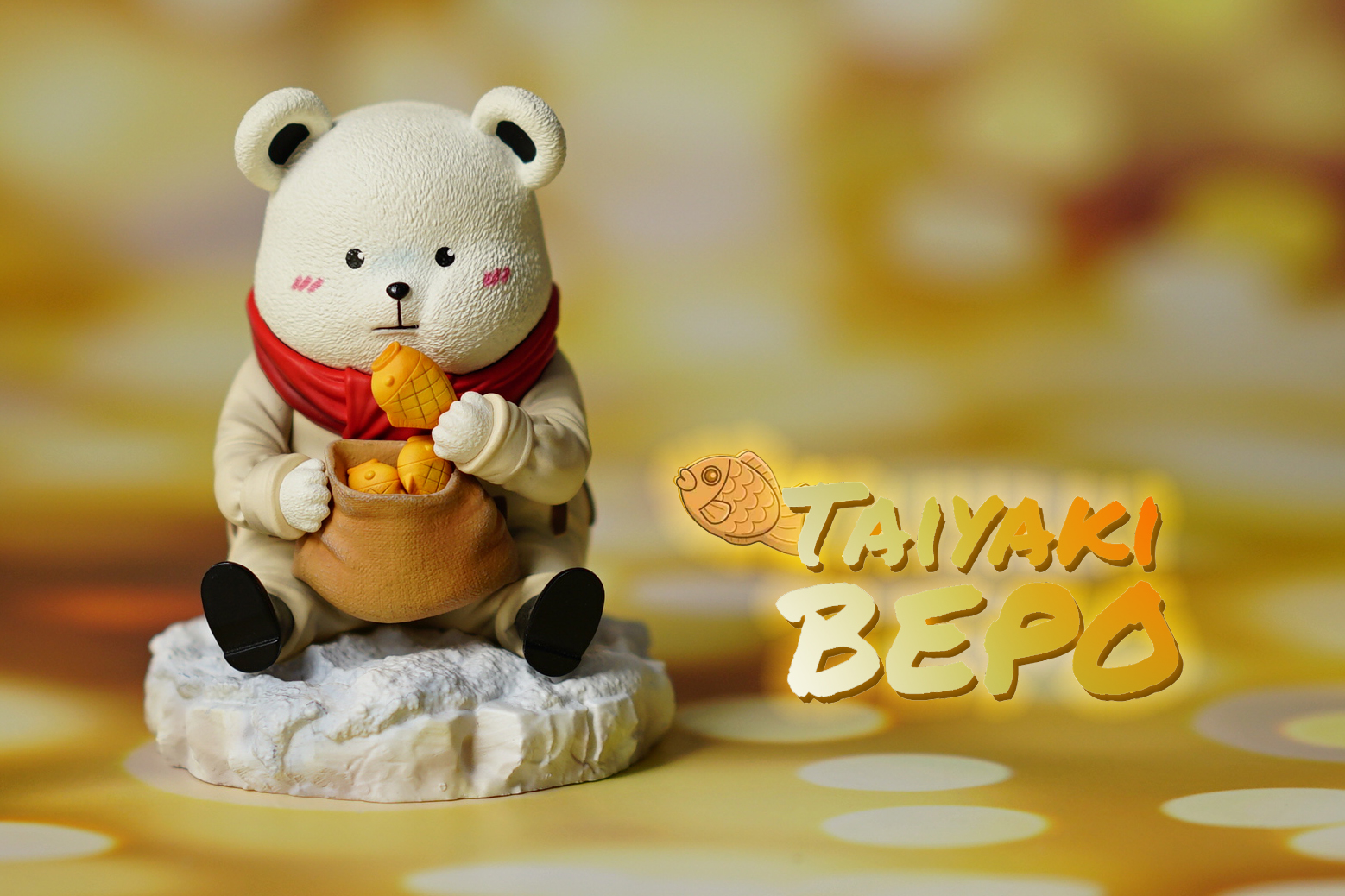 White BEPO น้องหมี x ขนมไทยากิ  A+ Studio (มัดจำ) [[SOLD OUT]]