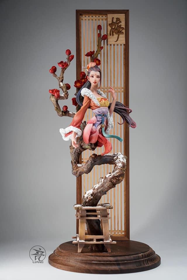 Plum ดอกพลัม Boutique Lady สาวงามบุปผา Liang (มัดจำ) [[SOLD OUT]]
