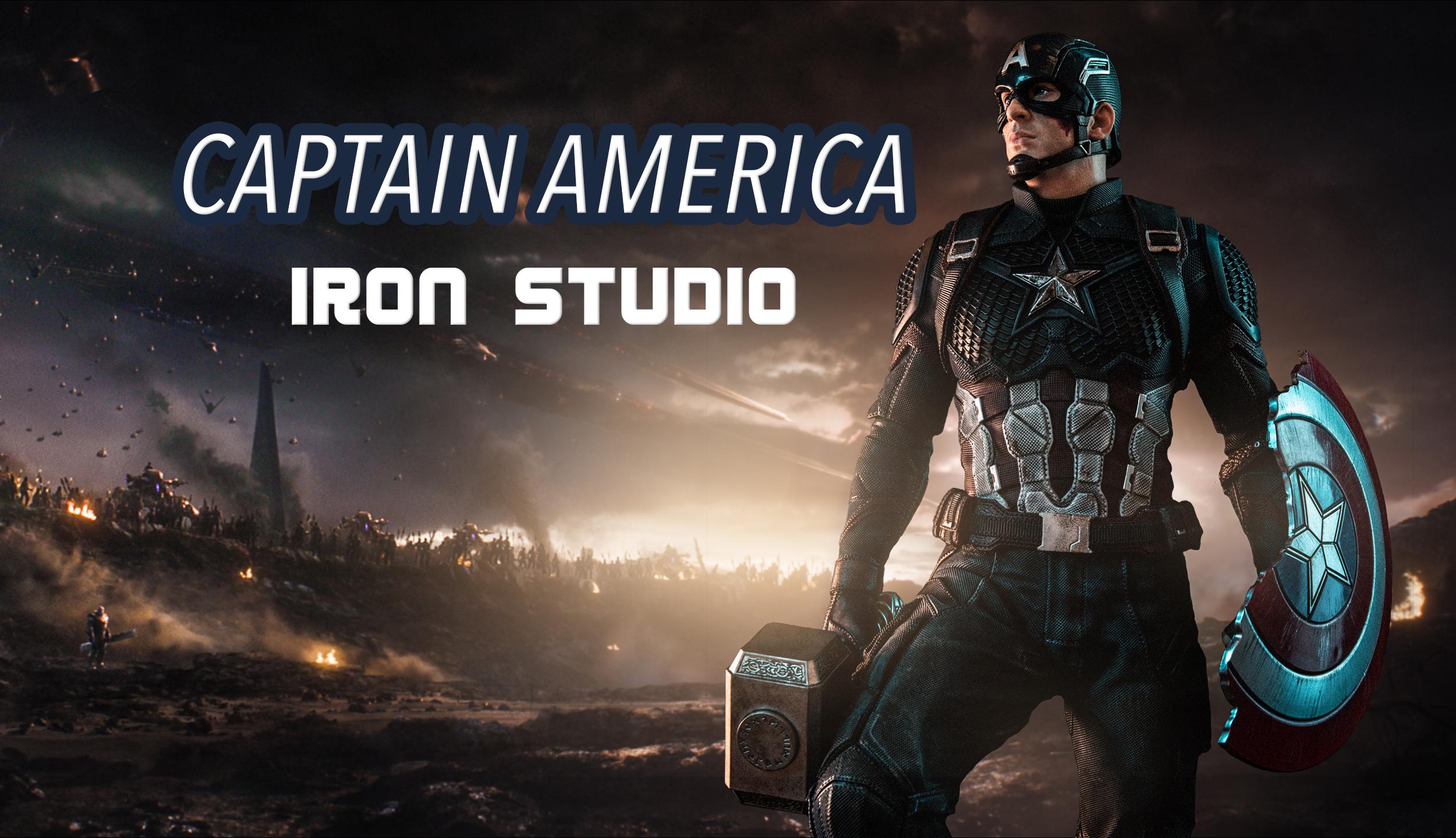 Reivew EP.22 กัปตัน อเมริกา Captain America - IRON Studio