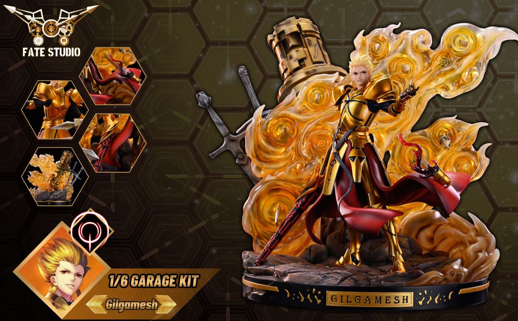 Gilgamesh กิลกาเมช Fate Studio (มัดจำ) [[SOLD OUT]]