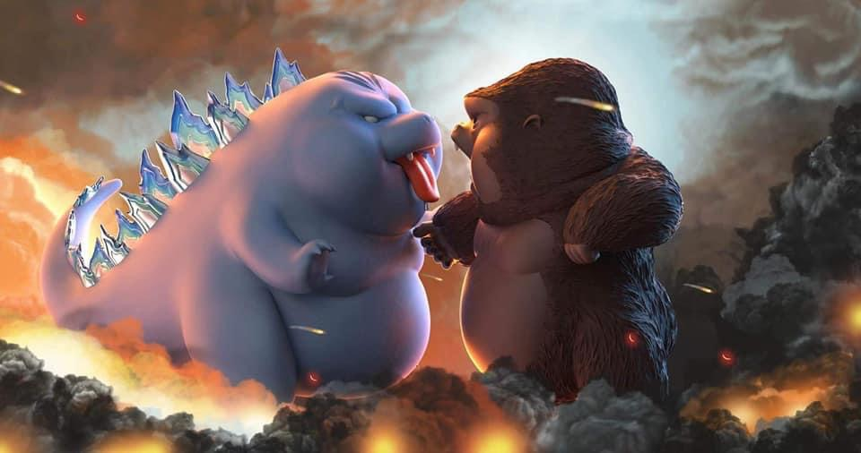Godzilla vs Kong (มัดจำ) [[SOLD OUT]]