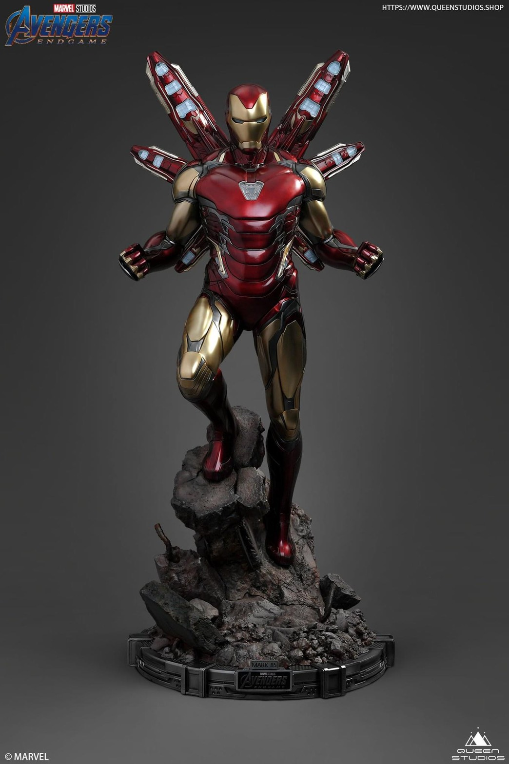 Iron man MK 85 Queen Studio (มัดจำ)