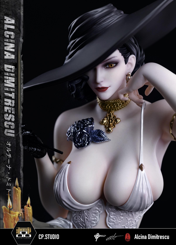 1/4 Normal Lady Dimitrescu สาวแวมไพร์ LC Studio (มัดจำ)