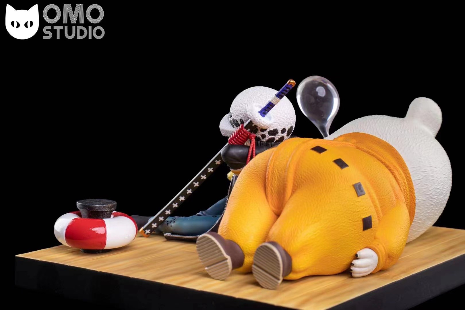 Trafalgar Law x Bepo ลอว์ x เป๊ปโปะ by OMO Studio (มัดจำ) [[SOLD OUT]]