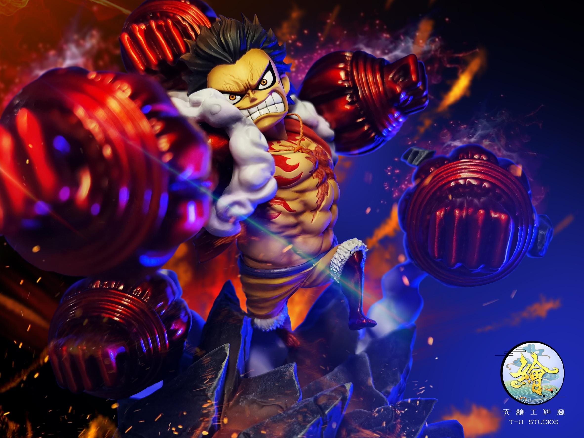Monkey D. Luffy ลูฟี่ เกียร์4 by TianTong (มัดจำ)