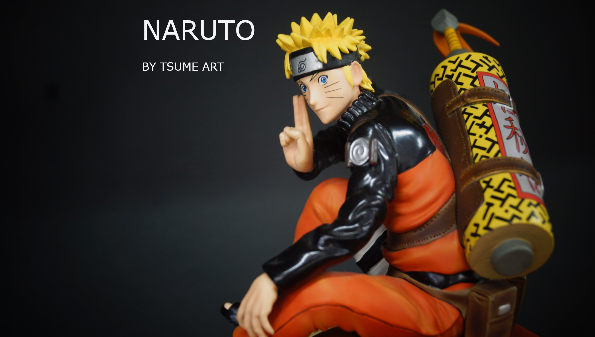 Reivew EP.18 NARUTO by Tsume Art : Naruto Uzumaki - Summon of Gamakichi