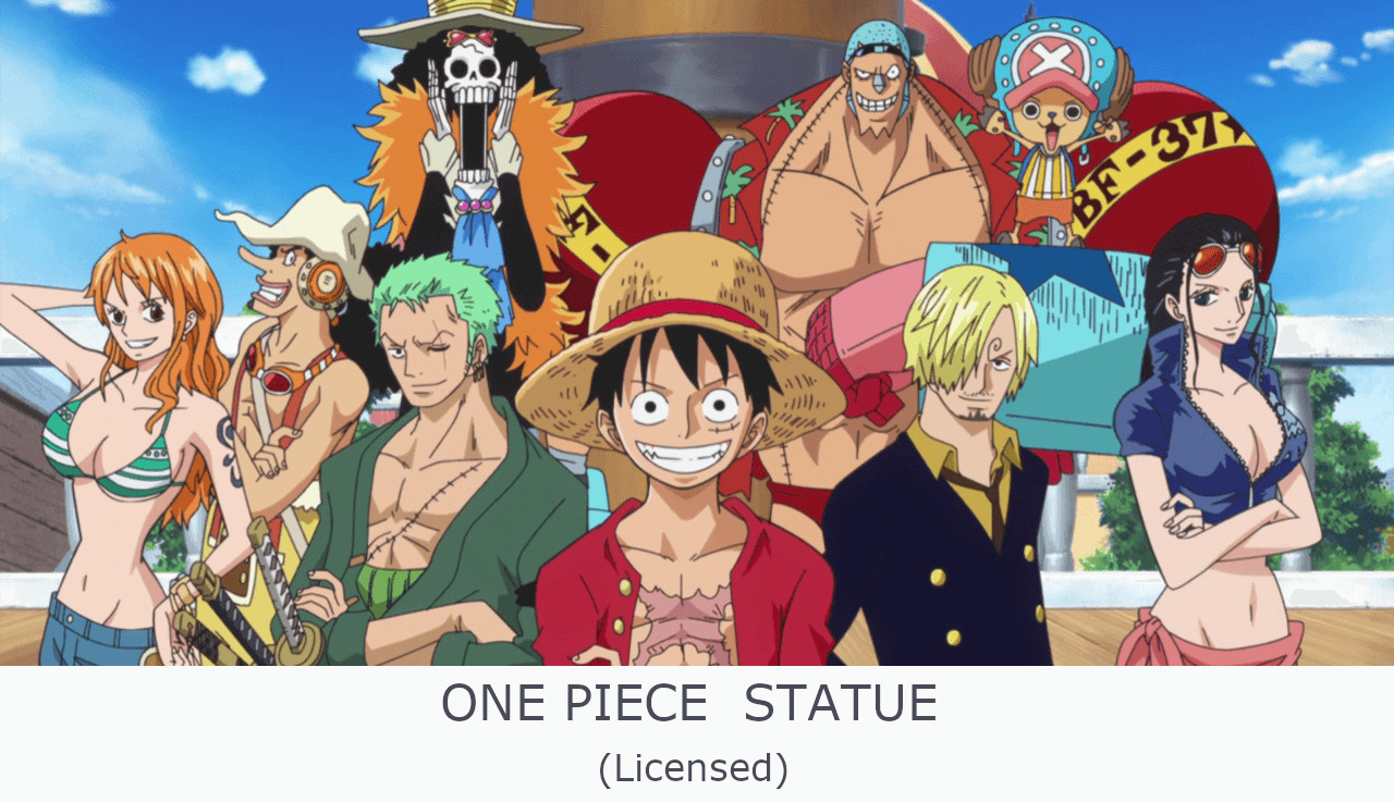 NEWS EP.3 ONEPIECE statue (Licensed) - รวบรวมงานปั้นวันพีชแบบมีลิขสิทธิ์