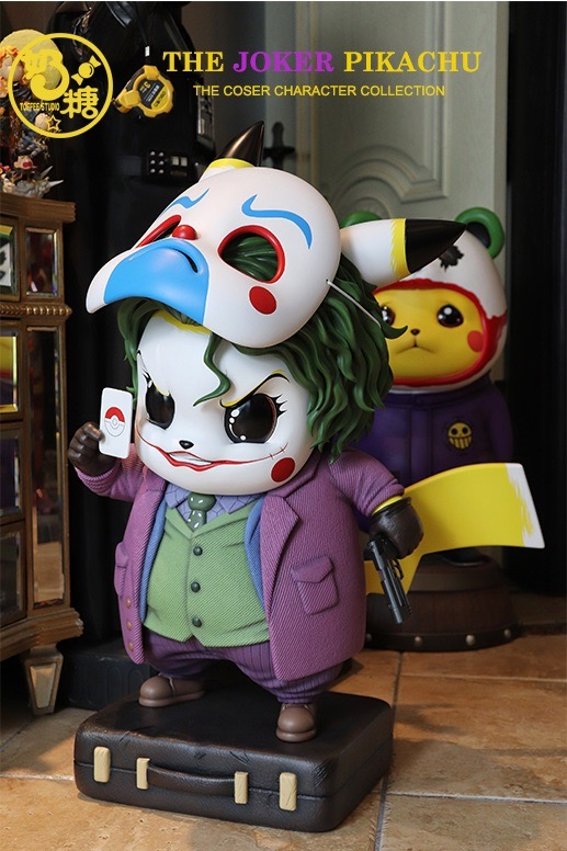 Mini Size Pikachu x Joker ปิกาจู โจ๊กเกอร์ by TOFFEE Studio (มัดจำ) [[SOLD OUT]]