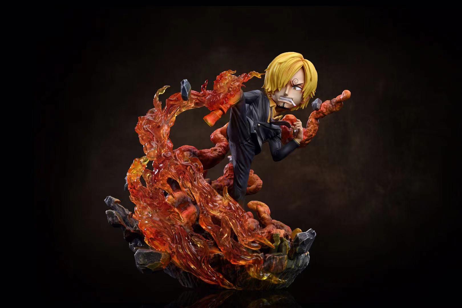A แบบขาดำ Vinsmoke Sanji ซันจิ by G5 Studio (มัดจำ)