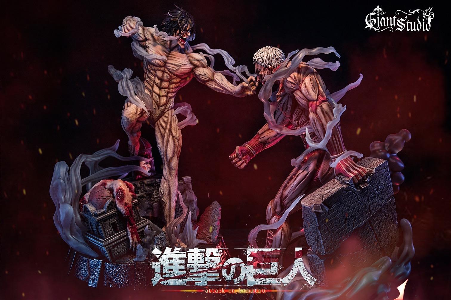 Attack Titan ไททั่นจู่โจม เอเรน by Giant Studio (มัดจำ)