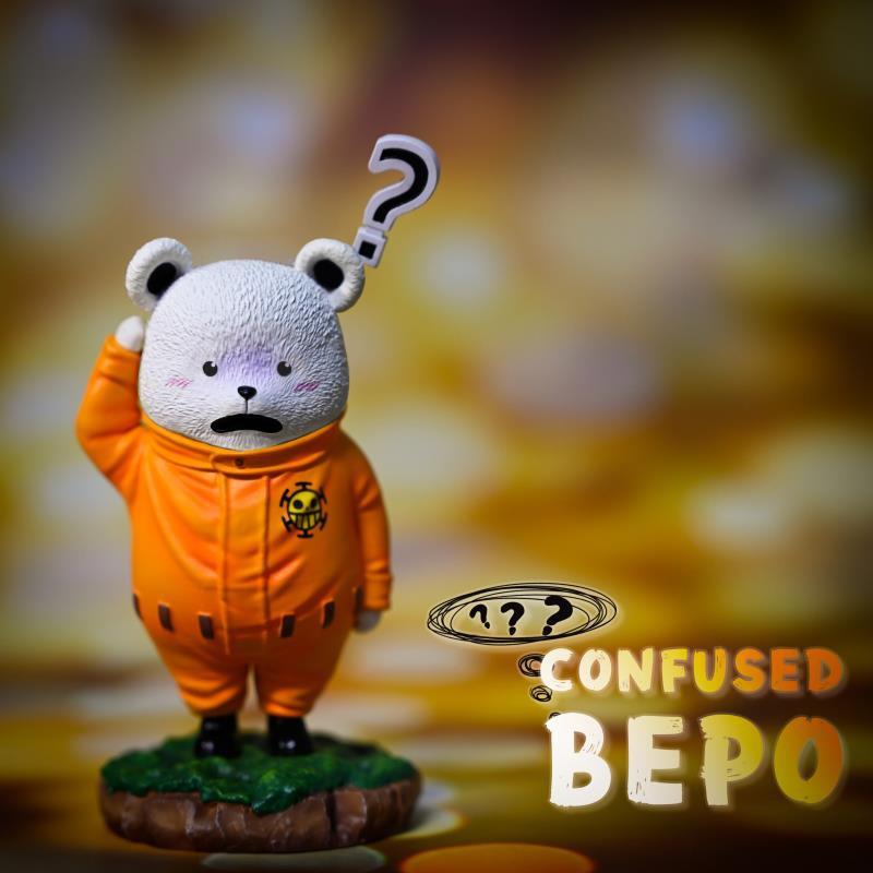 สีส้ม Bepo หมีงง A+ (มัดจำ)