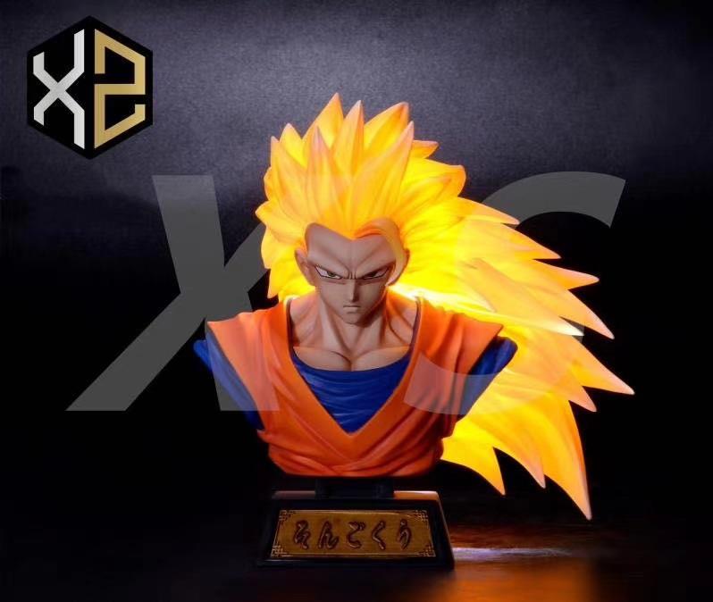 Bust Goku Super Saiyan3 XZ Studio (มัดจำ)[[SOLDOUT]]