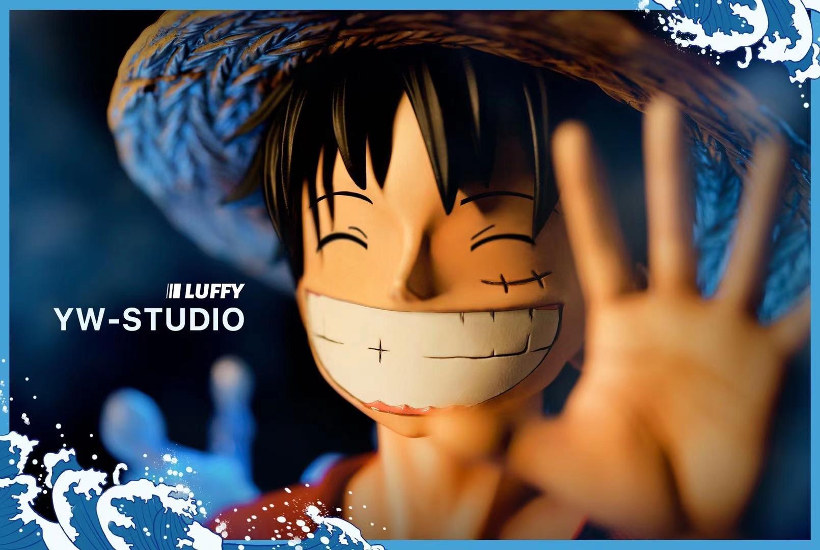เล็ก Bust Luffy ลูฟี่ YW Studio (มัดจำ) [[SOLDOUT]]