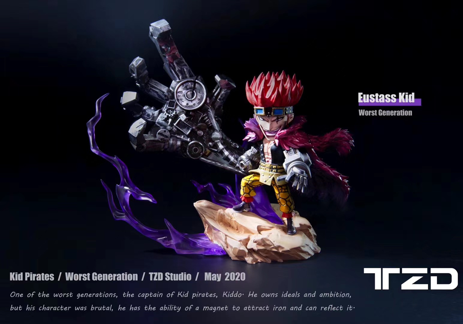 Captian Eustass Kid  TZD (มัดจำ) [[SOLD OUT]]