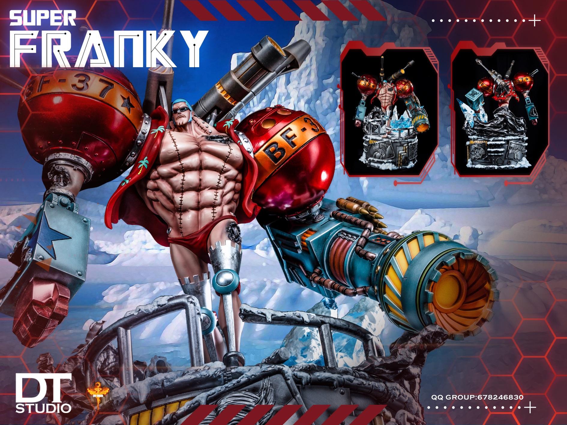 Cyborg Franky แฟรงกี้ ไซบอร์ก DT Studio (มัดจำ)[[SOLD OUT ]]