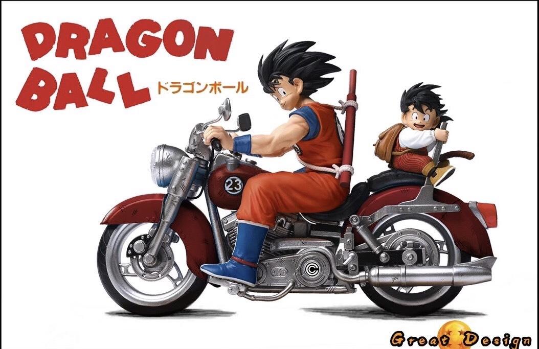Red โกคู x โกฮัง Goku Gohan Biker GD Studio (มัดจำ)[[SOLDOUT]]