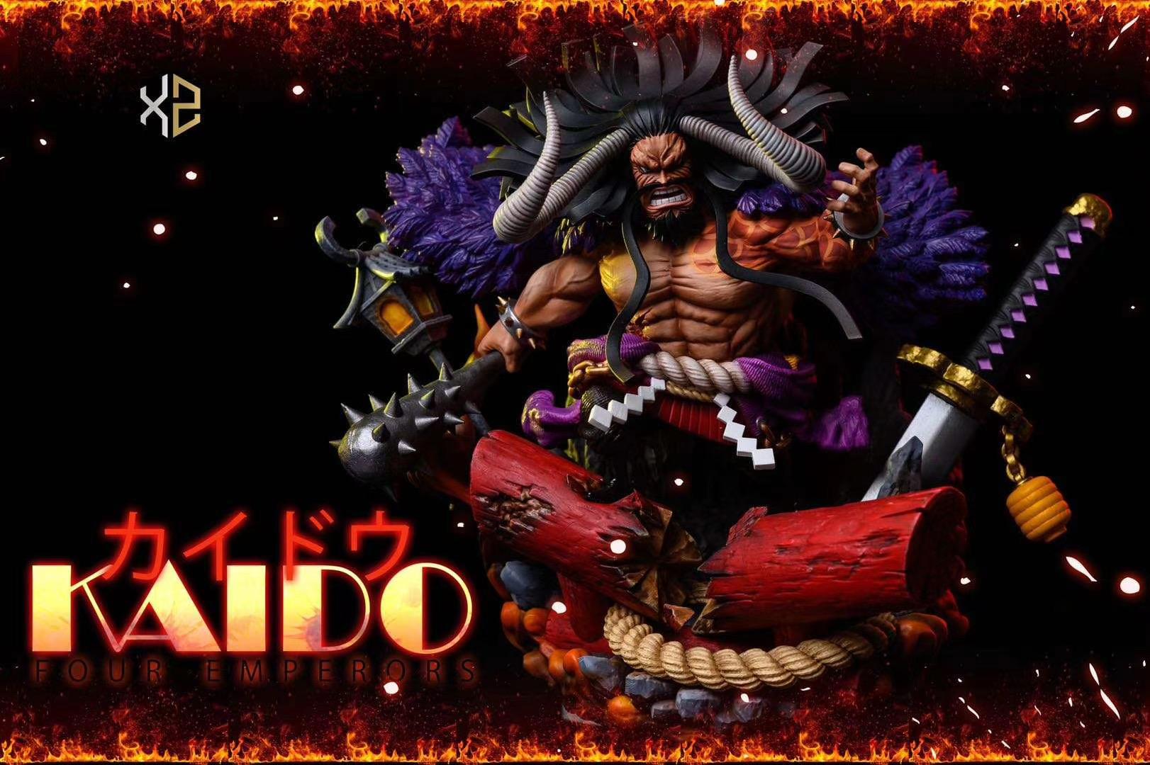 4 จักพรรดิ ไคโด Kaido XZ Studio (มัดจำ) [[SOLD OUT]]
