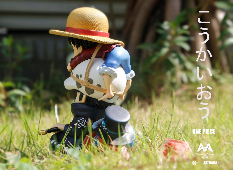 Law x Luffy ลอว์ x ลูฟี่ จิ๋ว AA Studio (มัดจำ)