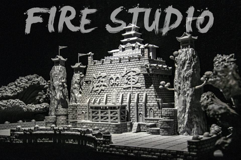 มารีนฟอร์ด Marineford Scene Fire Studio (มัดจำ[[SOLDOUT]]